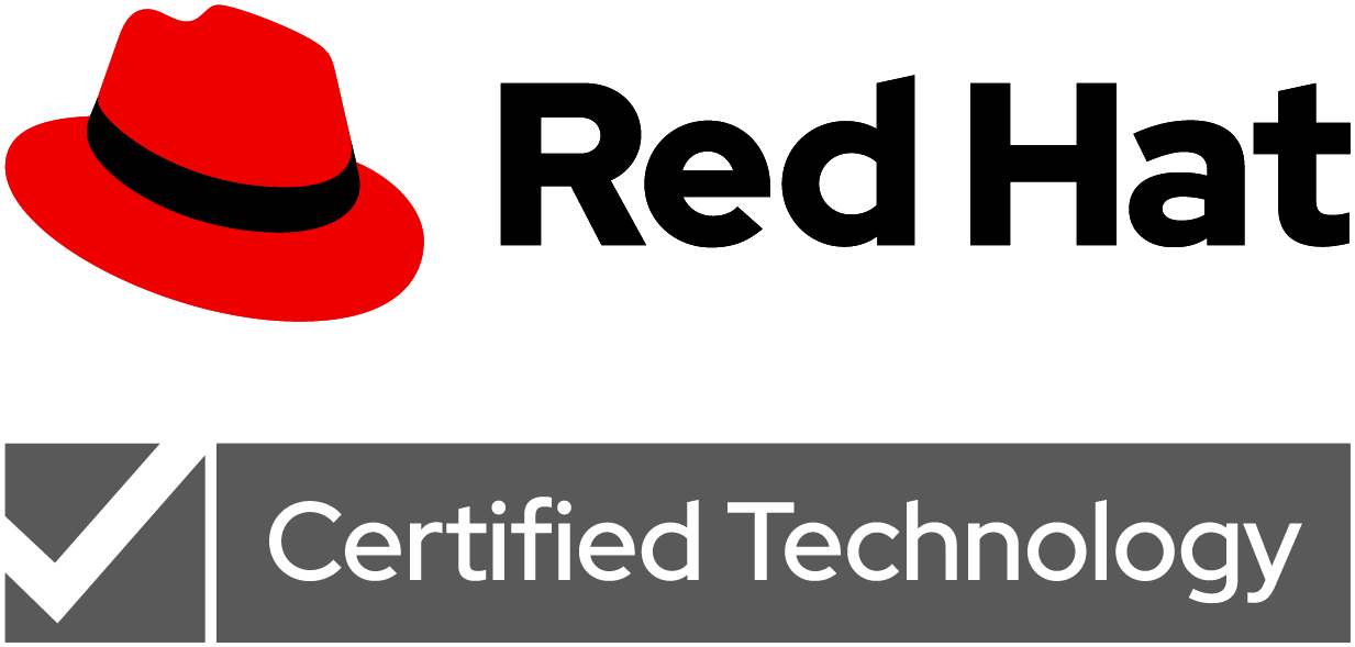 Red Hat certified logo
